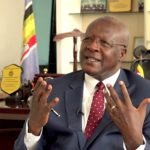 Chief Justice Bart Katureebe hands over office