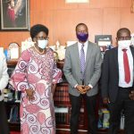 KADAGA WELCOMES ANT ISSUES
